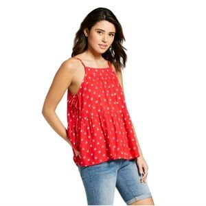 NWT Universal Thread Red and White Tank